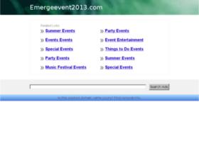 emergeevent2013.com