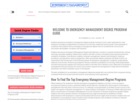 emergency-management-degree.org