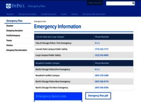 emergencyplan.depaul.edu