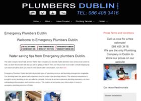 emergencyplumbersdublin.ie