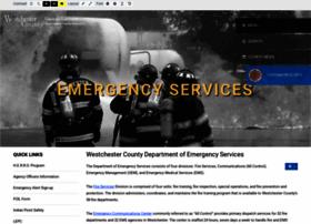 emergencyservices.westchestergov.com
