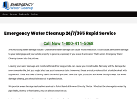 emergencywatercleanup.com