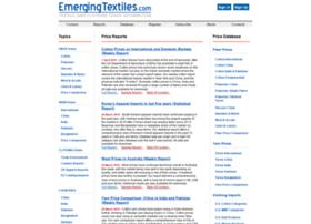 emergingtextiles.com