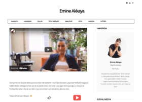 emineakkaya.com