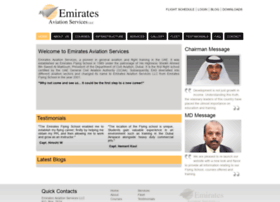 emiratesaviationservices.com