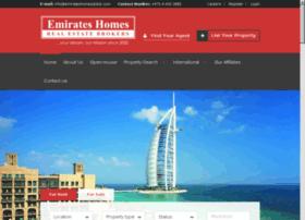 emirateshomesdubai.com