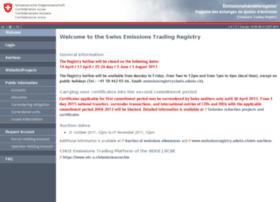 emissionsregistry.admin.ch