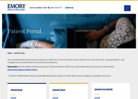 emoryhealthcarepatientportal.iqhealth.com