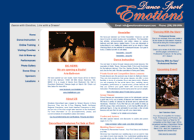 emotionsdancesport.com