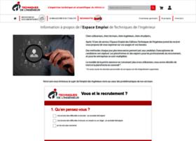 emploi.techniques-ingenieur.fr