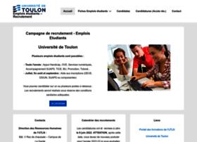emplois-etudiants.univ-tln.fr