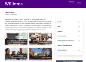 employment.williams.edu