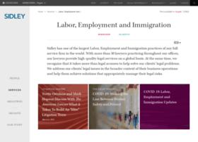 employmentlaw.sidley.com