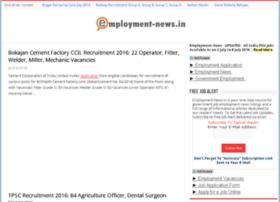 employmentnews.indialist.org