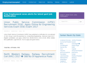 employmentnewsalert.in