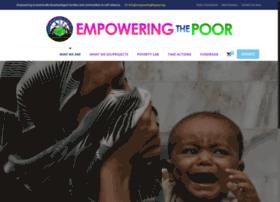 empoweringthepoor.org