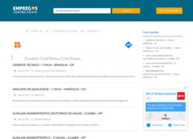 empregoscentrooeste.com.br