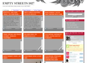 emptystreets27.blogspot.com