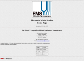emssynthesisers.co.uk