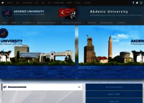 en.akdeniz.edu.tr