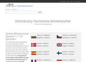 en.dictindustry.com