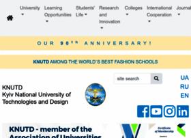 en.knutd.com.ua