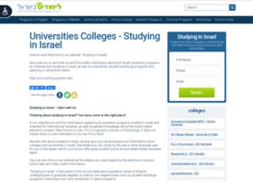 en.universities-colleges.org.il
