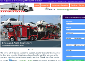 enclosedautotransports.com