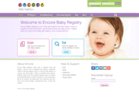 encorebabyregistry.com