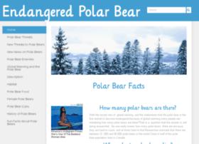 endangeredpolarbear.com