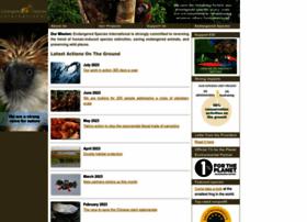 endangeredspeciesinternational.org