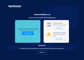 endeavourbuilders.co.uk