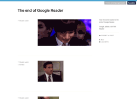 endofgooglereader.tumblr.com