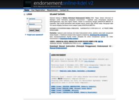 endorsement.kdei-taipei.org