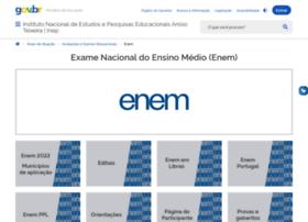 Enem.inep.gov.br