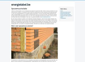 energielabel.be