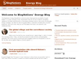 energy.blognotions.com