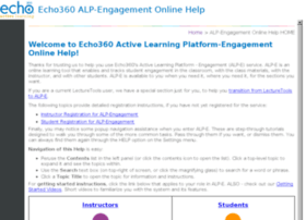 engagehelp.echo360.org