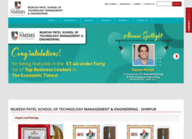 engineering-shirpur.nmims.edu