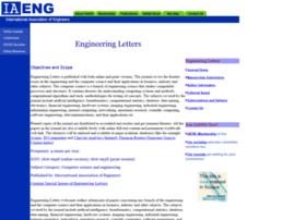 engineeringletters.com