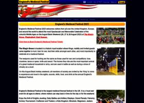 englandsmedievalfestival.com