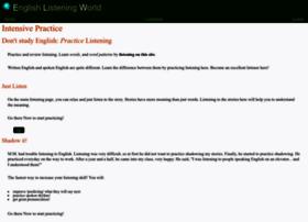 English-listening-world.com