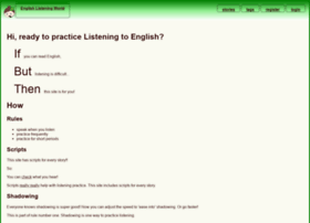 english-listening-world.com