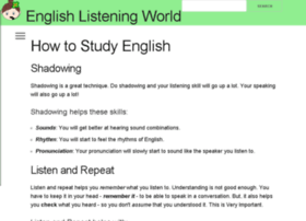 english-listening-world.org