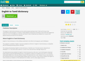 english-to-tamil-dictionary.soft112.com