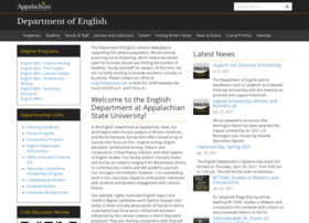 english.appstate.edu