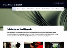 english.nd.edu