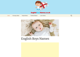 englishboysnames.co.uk