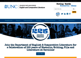 englishcomplit.unc.edu