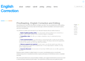 englishcorrection.co.uk